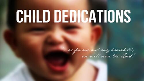 Child Dedication Lexington November 2019