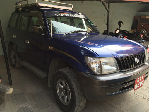 Four-wheel drive vehicle to support sustainable development and church rebuilding in Nepal