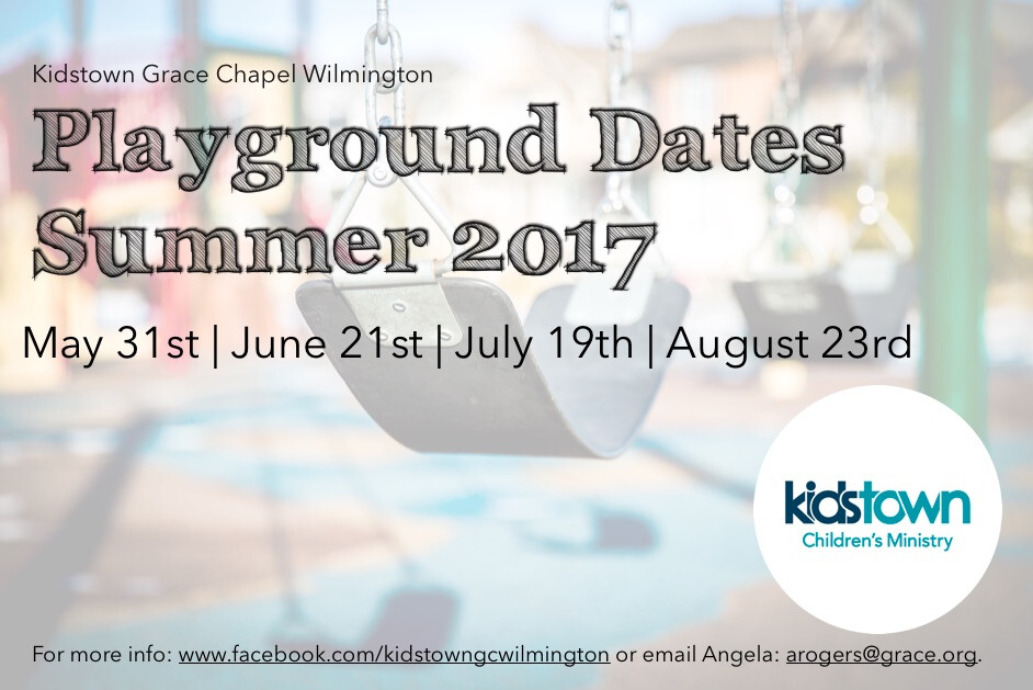 Wilmington Kidstown Playground Dates