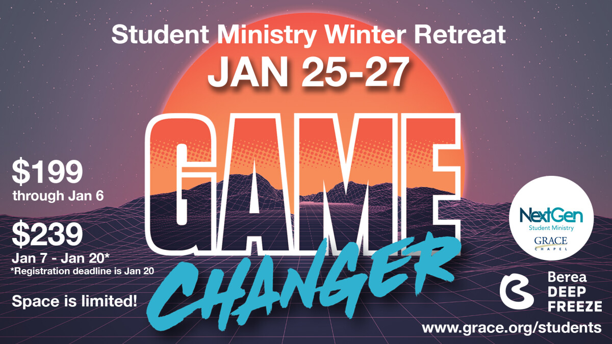 Student Ministry Winter Retreat: Deep Freeze 2019