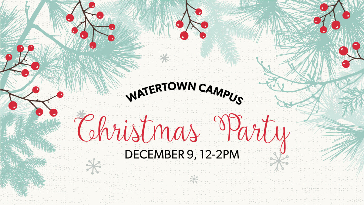 Watertown Christmas Party