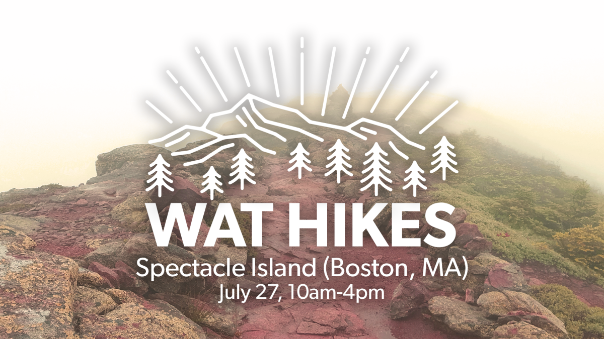 WAT Hikes Spectacle Island!