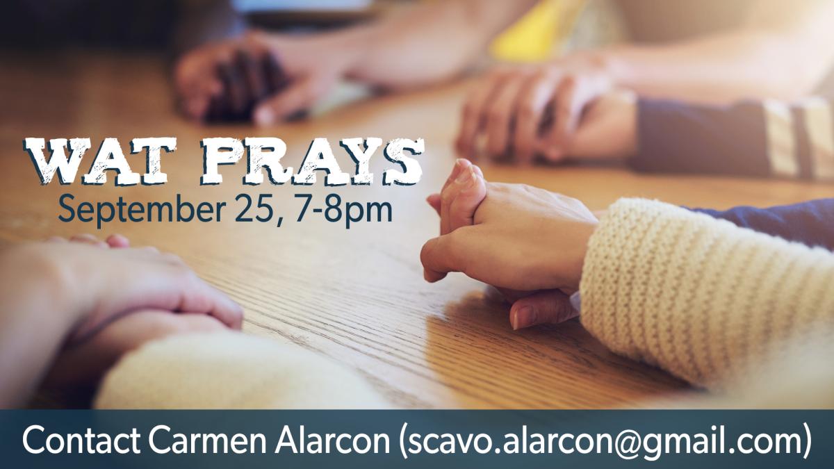 WAT Community Prayer Night