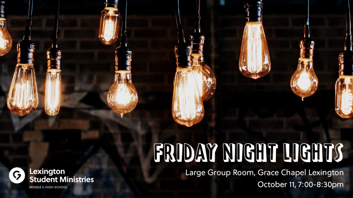 LEXSM Worship Night: Friday Night Lights 2019-2020