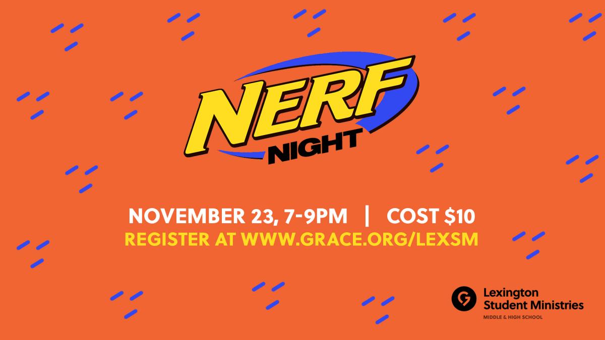 LEX MSM Nerf Night