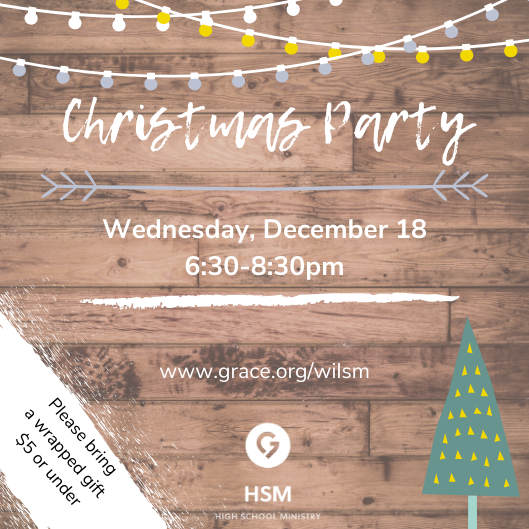 WIL HSM Christmas Party