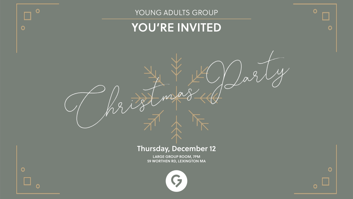 Young Adults Group: Christmas Party