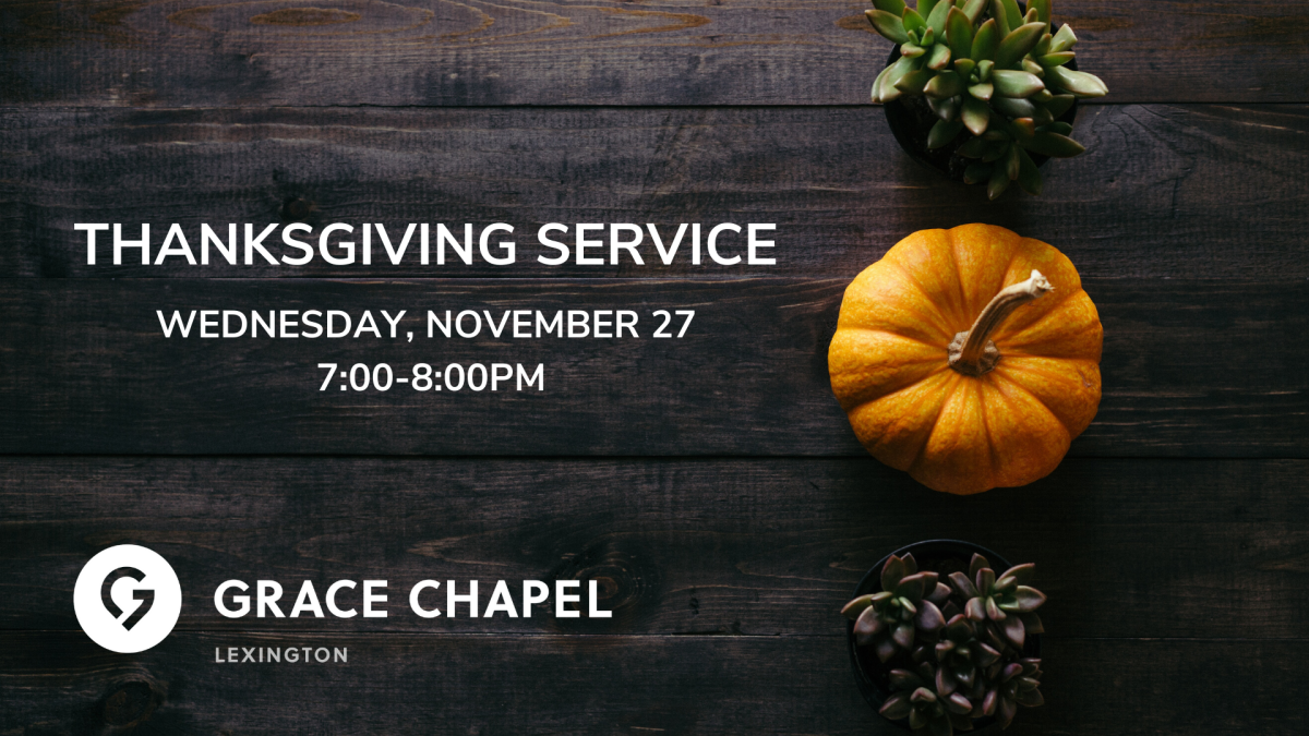 Lexington Thanksgiving Service